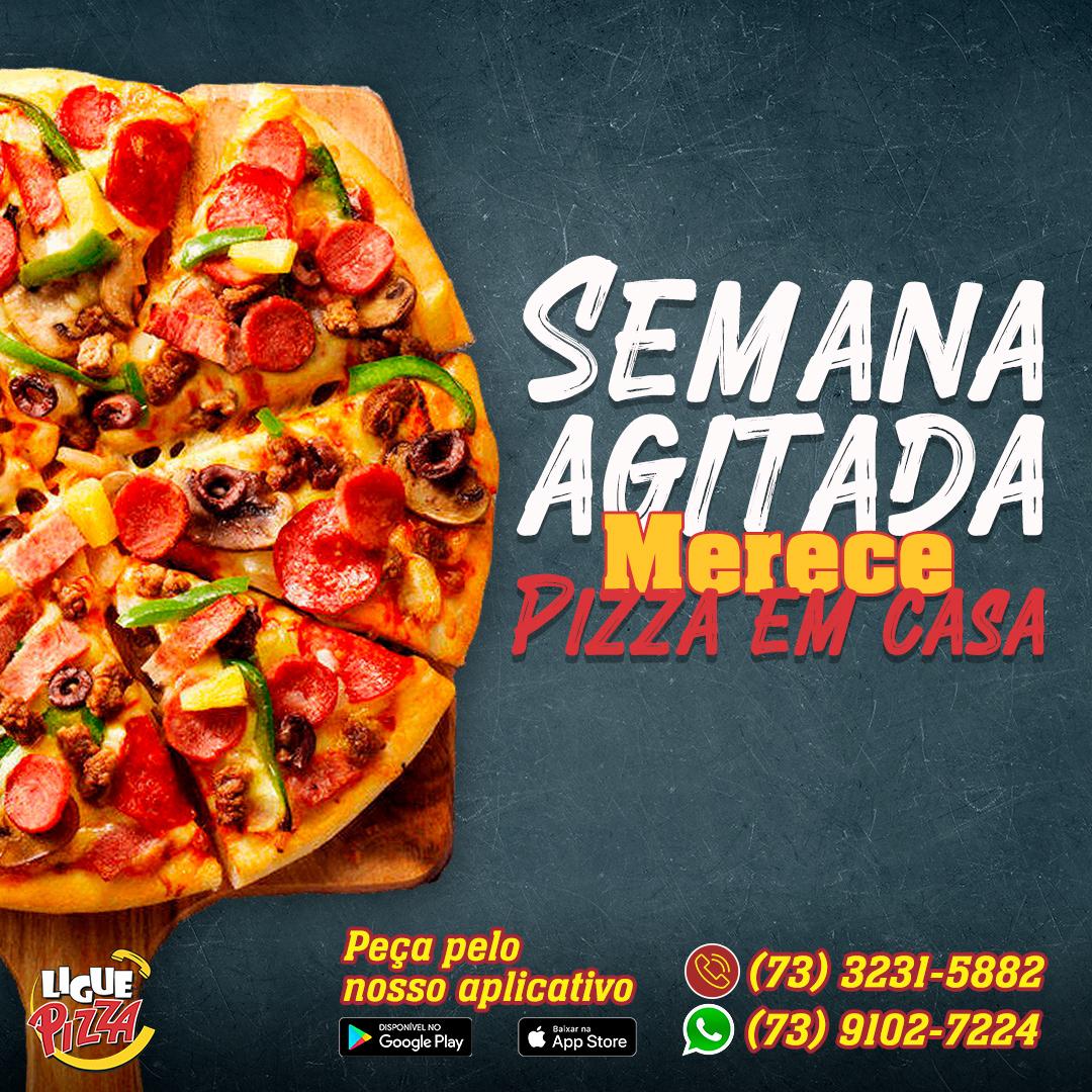 card Pizza post social midia