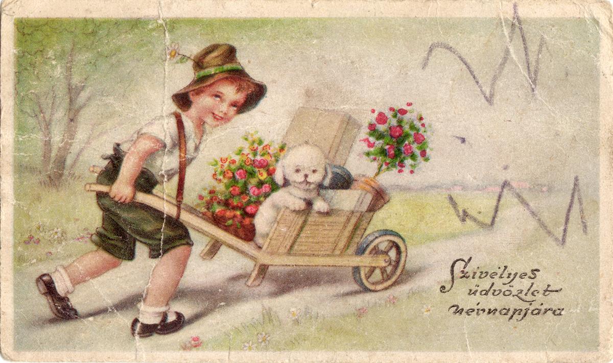 dating vintage greeting cards