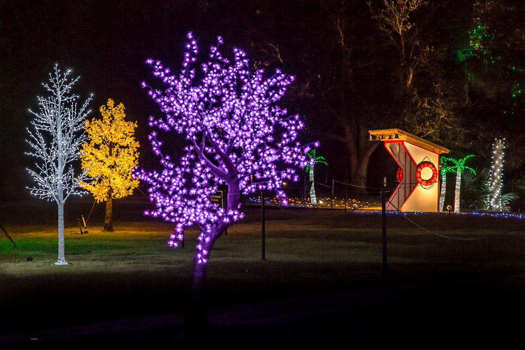Airlie Gardens' Enchanted Airlie, Courtesy of Brett Cottrell NHCNC
