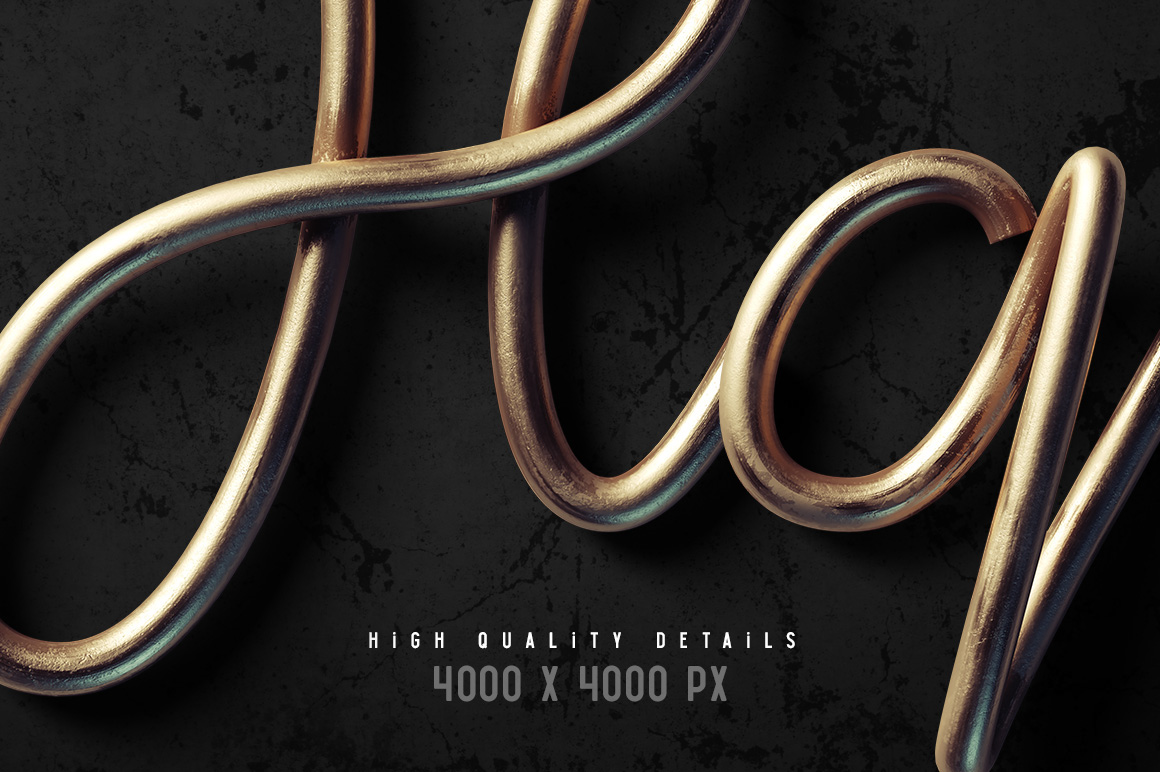 """Introducing a high quality PSD font set named """"Flex wire"""". It's a 3d rendered letters, it consists of 73 layered PSD files with transparent background."""