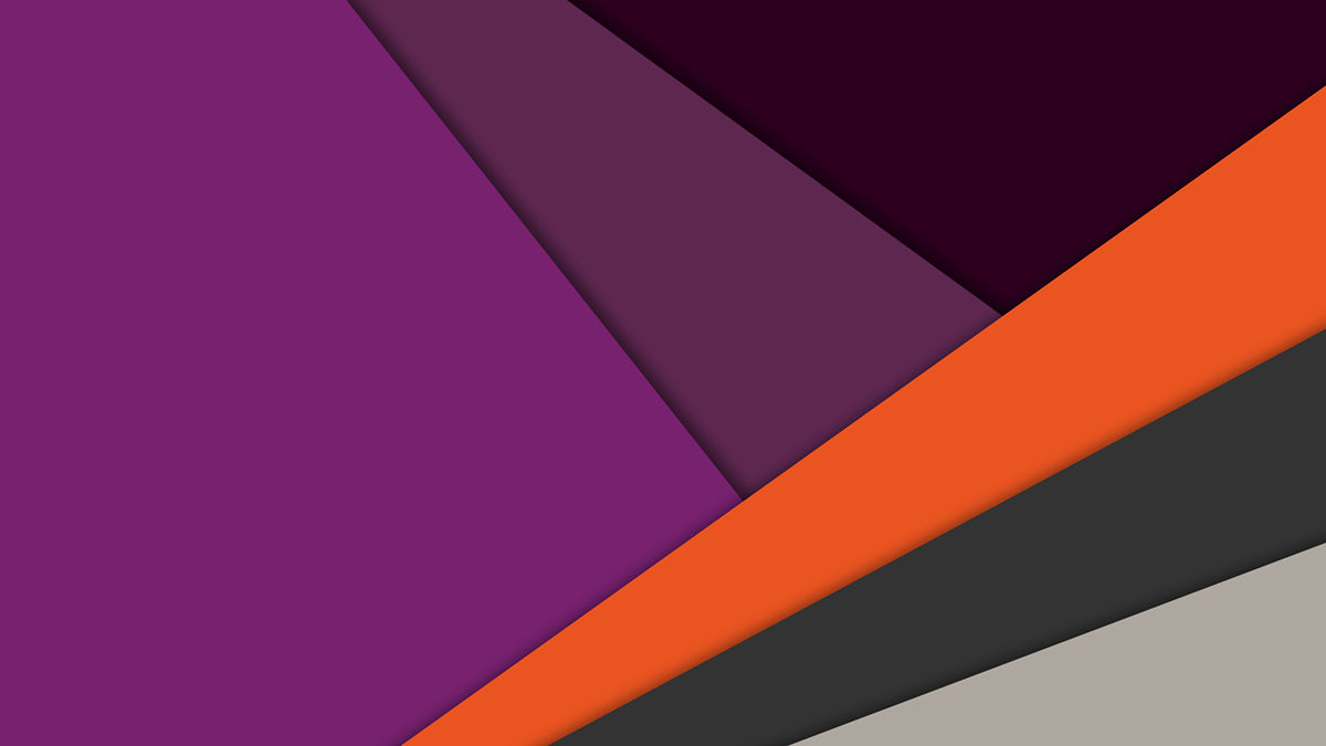 Ubuntu material design wallpaper for Sfondi material design