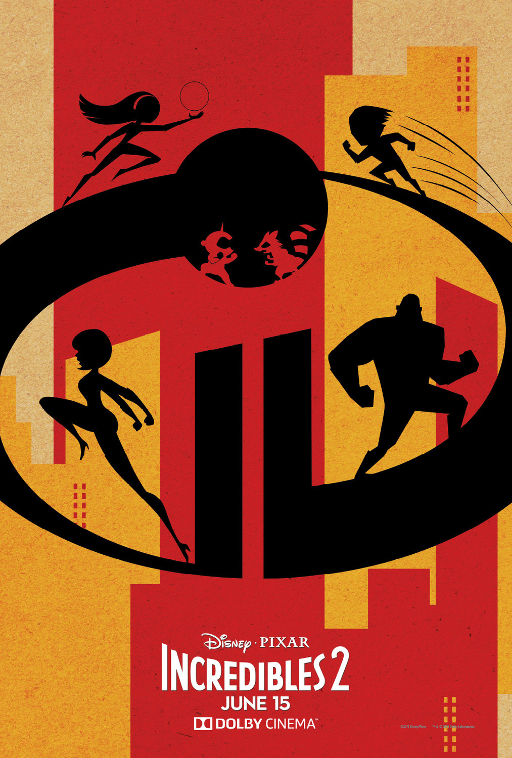 Incredibles 2 - Dolby Digital Poster on Behance