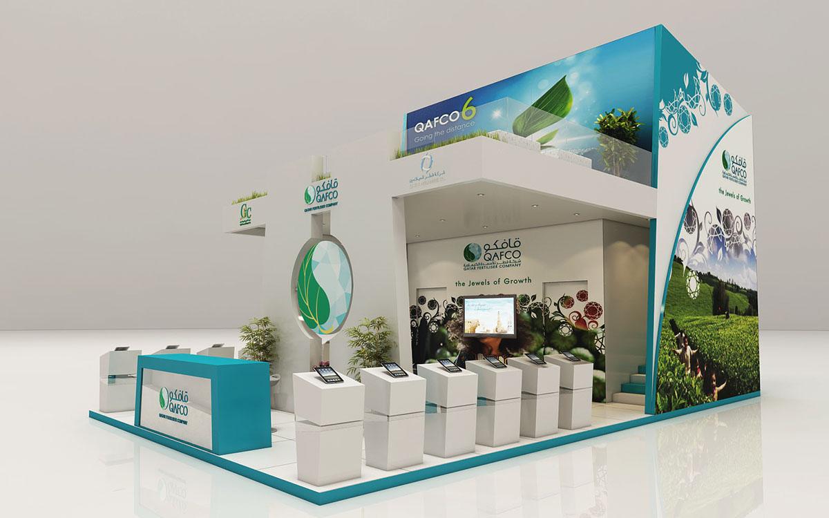 D Exhibition Designer Jobs In Qatar : Exhibit design qatar on behance