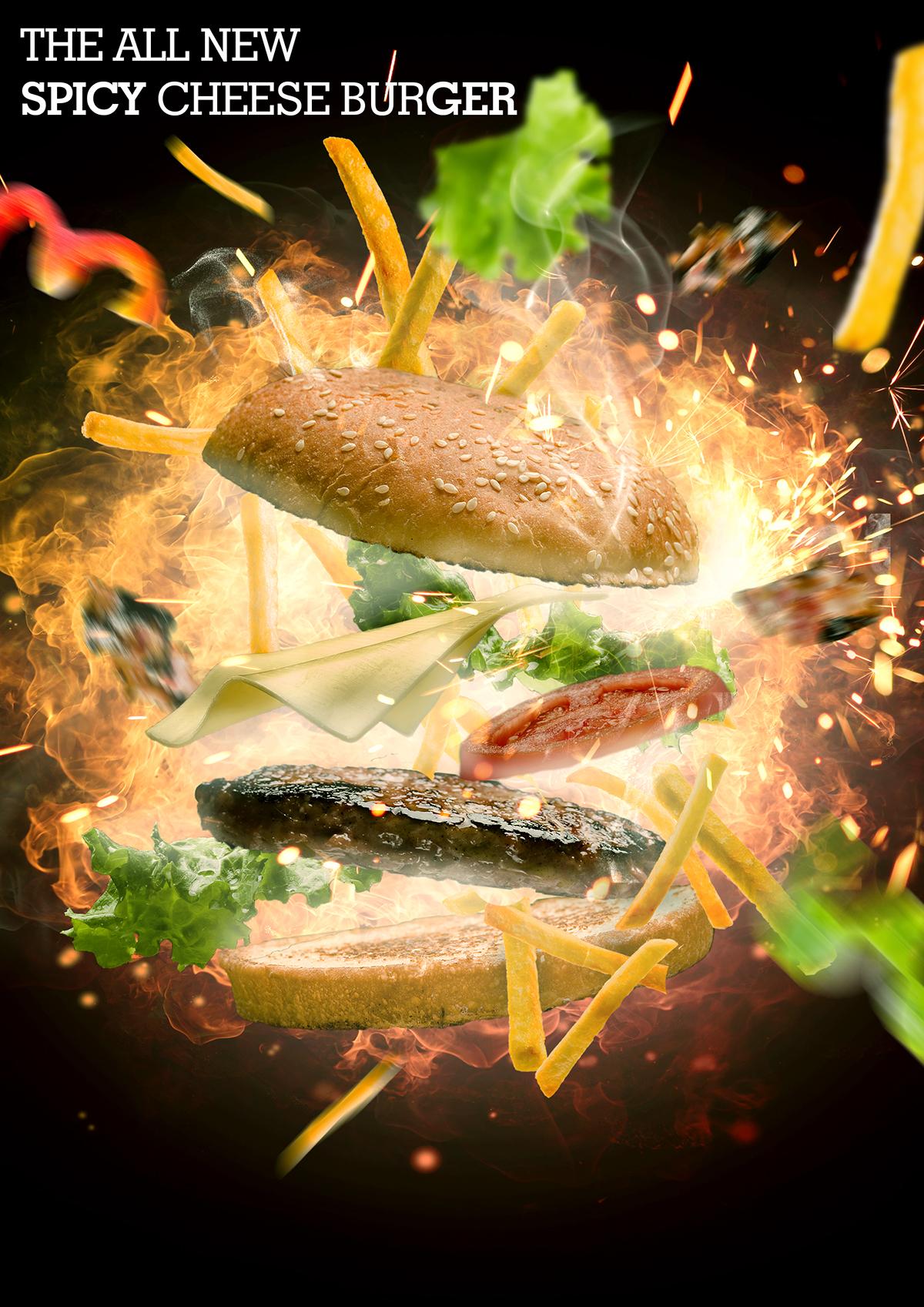 Advertising  manipulation artwork art direction  Food  graphic design  posters concepts Digital Art