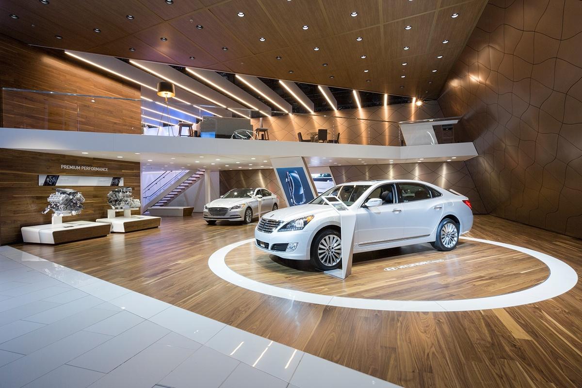 autoshow auto show Hyundai Los Angeles experiential marketing marketing   brand experience