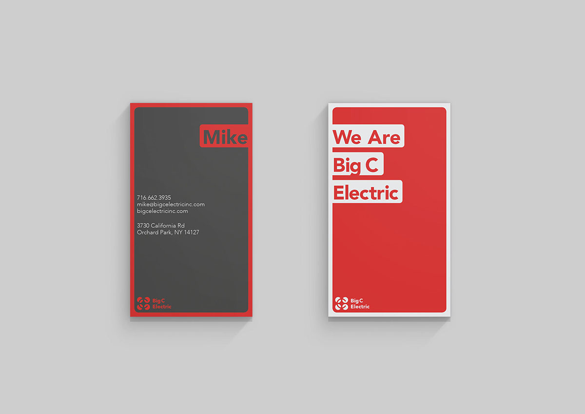 Logo Design Web graphic Budiness card letterhead gif electric red