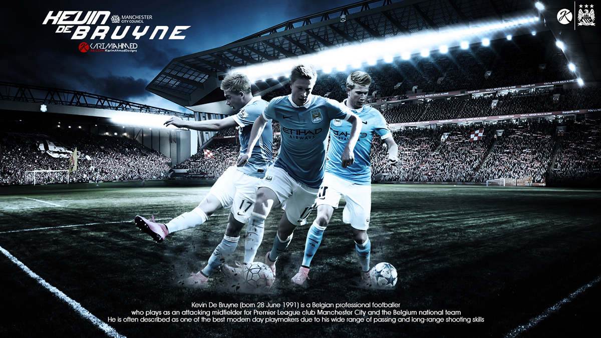 Kevin De Bruyne Wallpaper 2016 On Behance