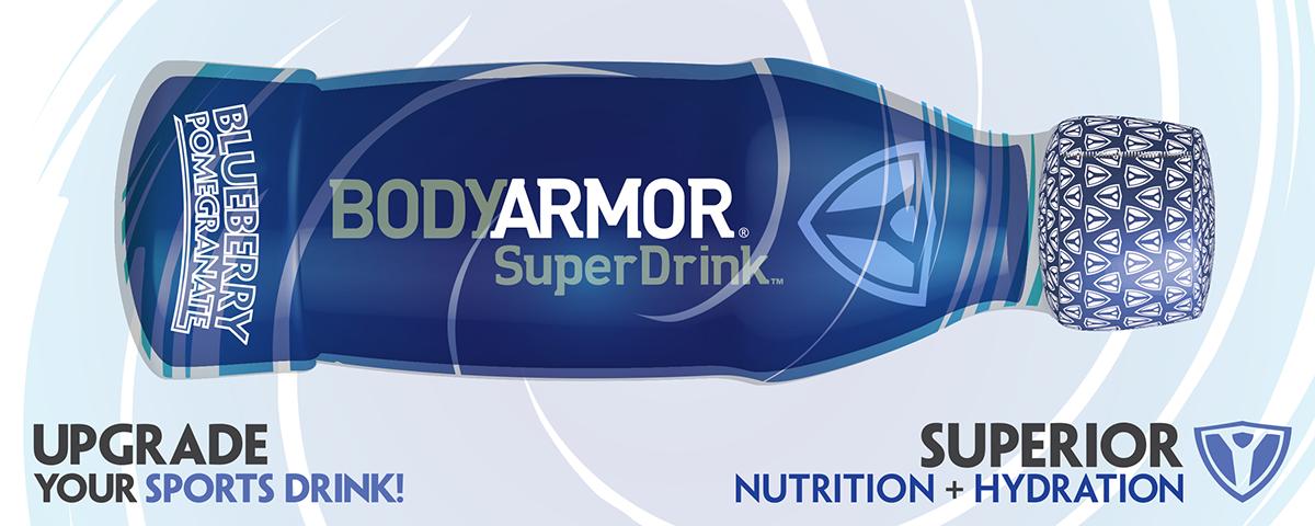 Bodyarmor Superdrink Redesigned Label On Behance