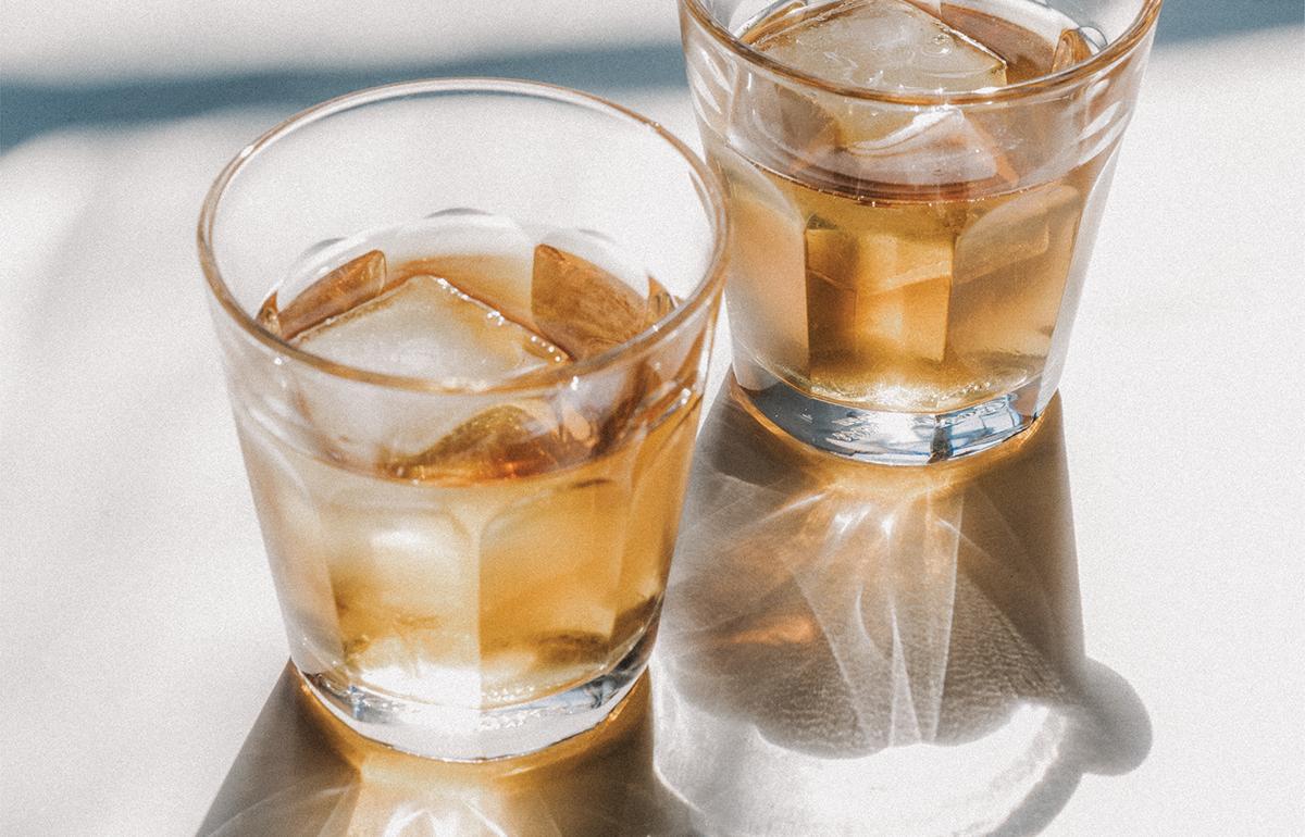 cocktail kit foil rustic slate old fashioned daiquiri black alcohol presentation letterpress texture