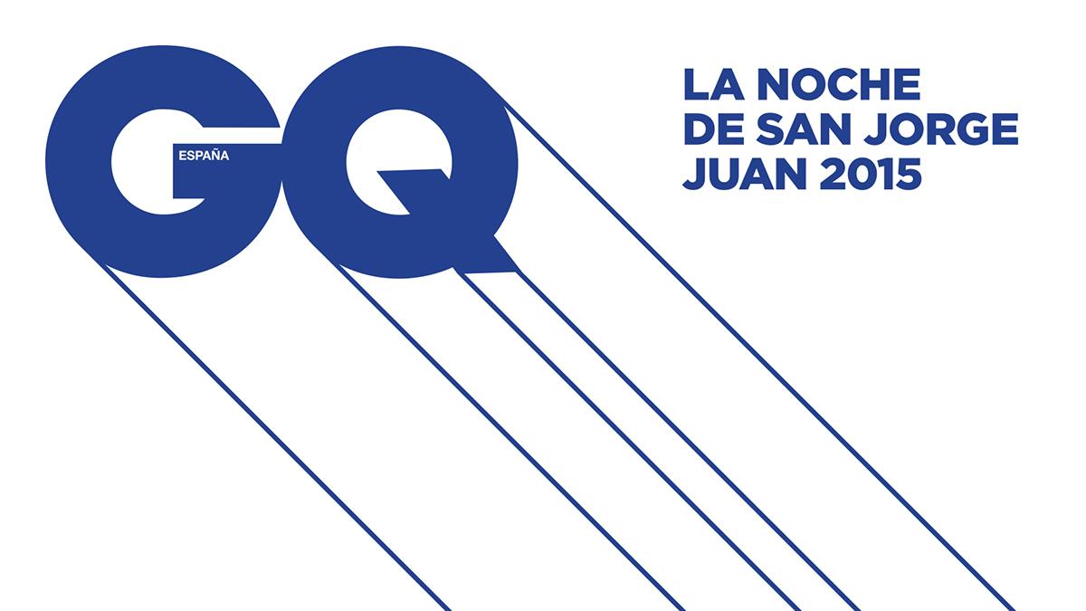 GQ summer party Street San Jorge Juan night