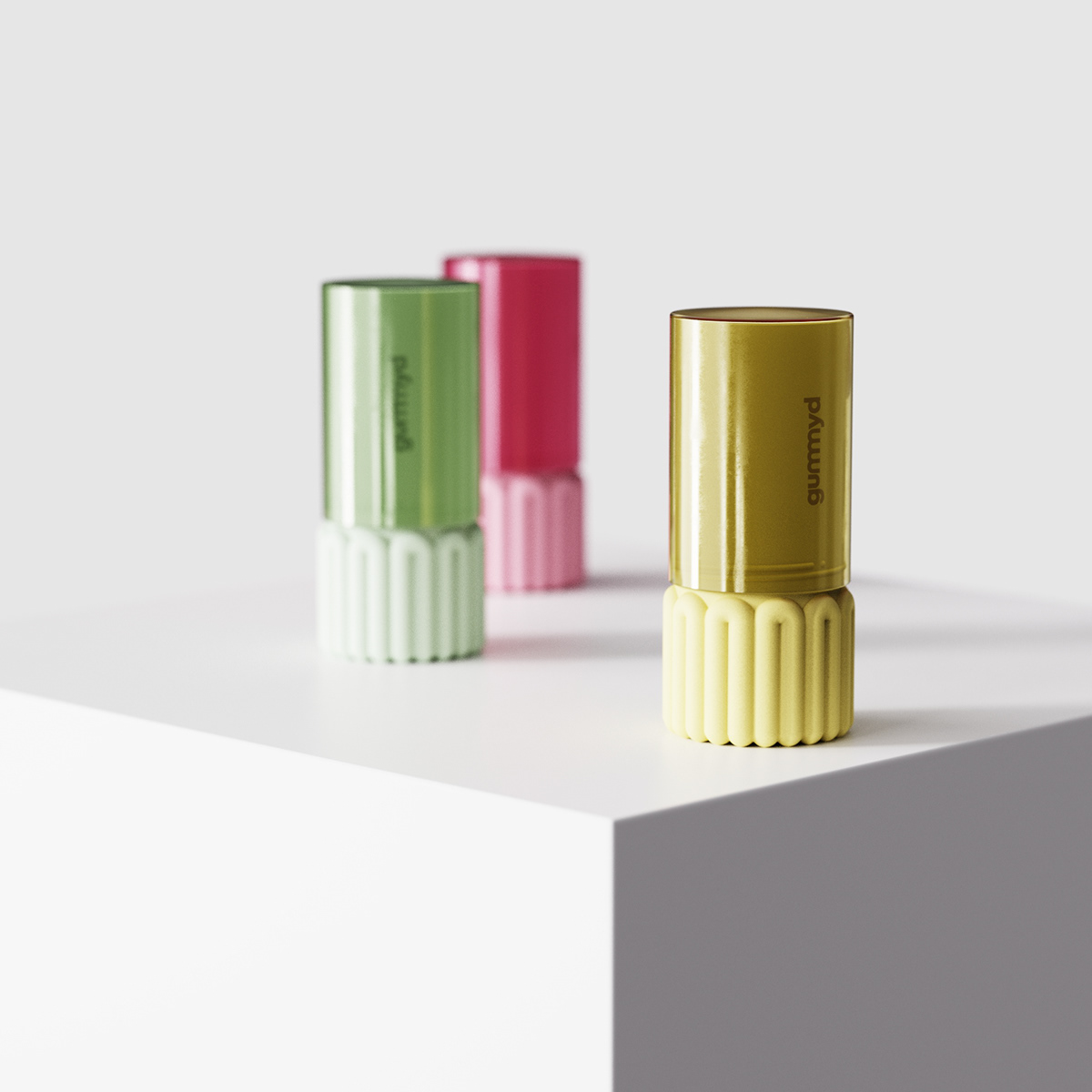 container diseño industrial gummies healthy industrial design  product design  sport colorful energy Fun