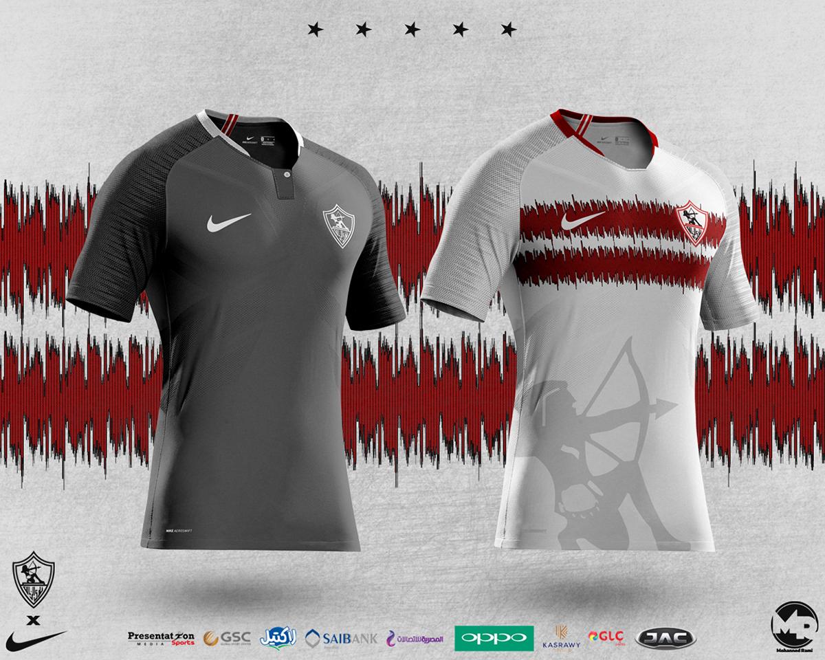 Zamalek SC 2019 Kits Concepts on Behance e2da3bb28