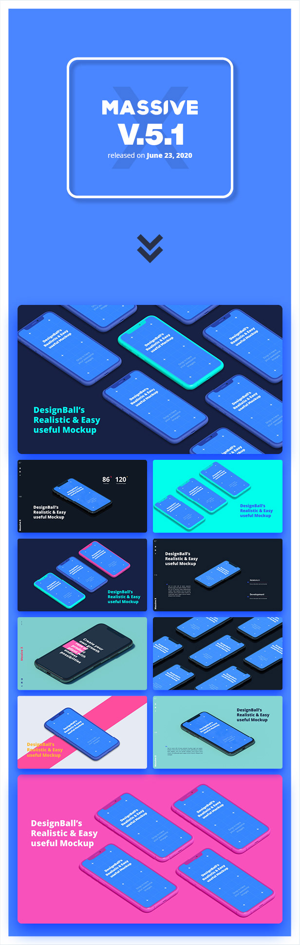 Massive X Presentation Template v.5.2 Fully Animated - 11