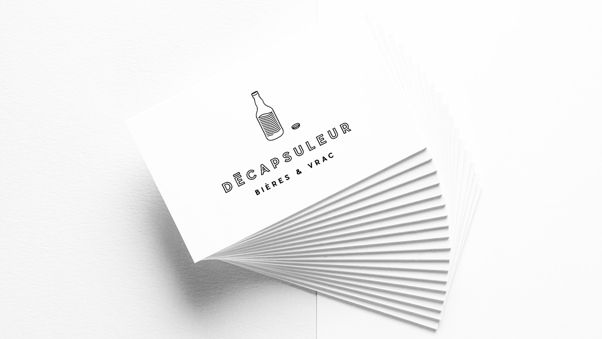 Decapsuleur bière beer Packsac PacksacStudio design graphicdesign Montreal GRIFFINTOWN Quebec