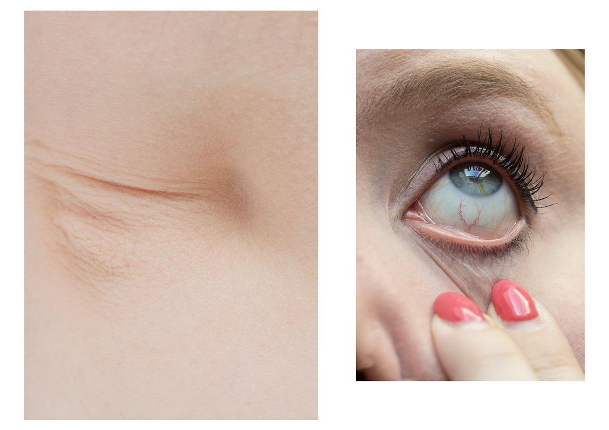Image may contain: eyes, cosmetics and eyelash