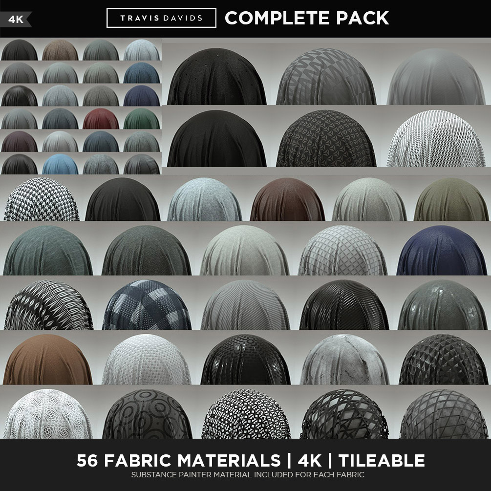 56 Fabric Materials - COMPLETE PACK - 4K - Tileable on Behance