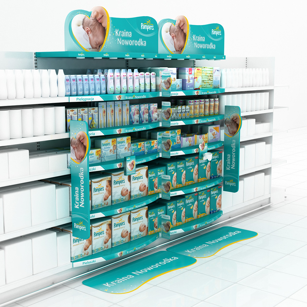 POS Visualisation For Pampers, P&G On Behance