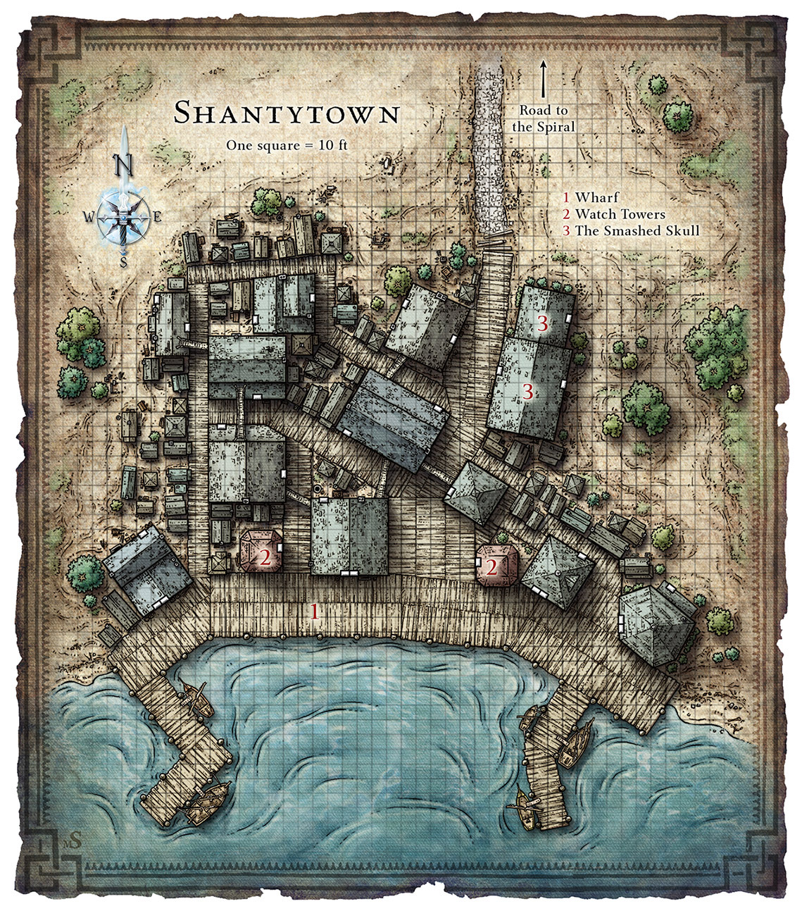 Shantytown Map