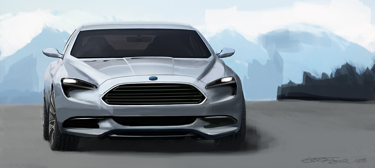 Ford Focus St >> The all-new Ford Mondeo on Behance