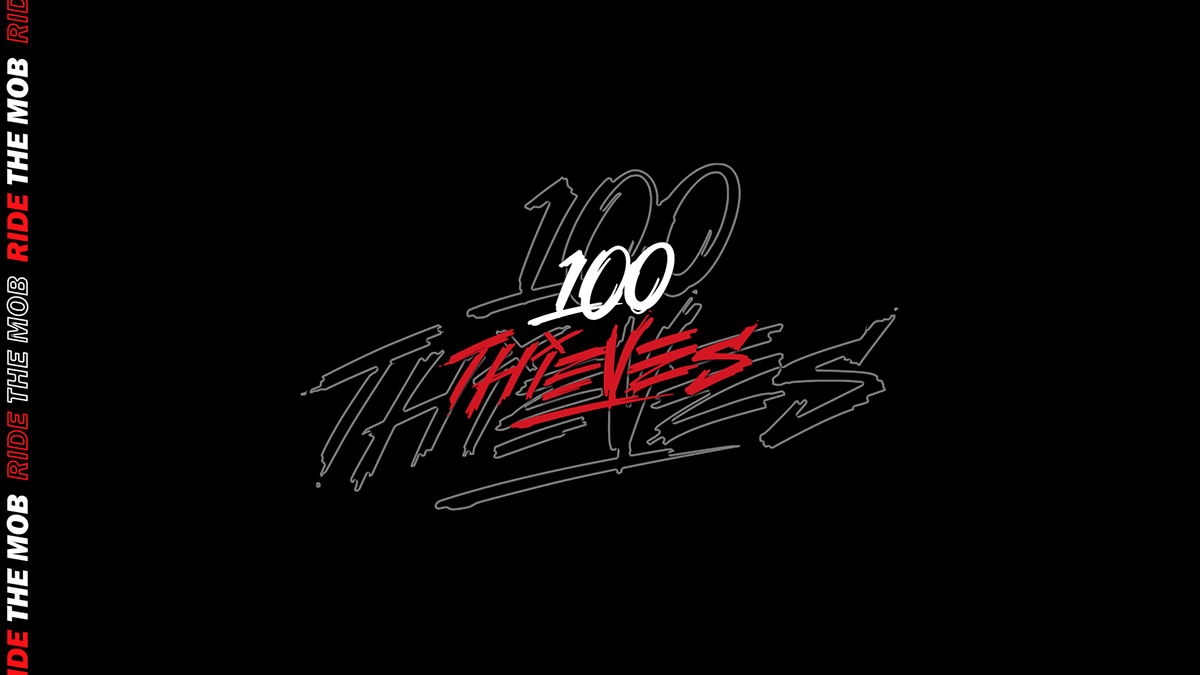 100 Thieves Wallpapers on Behance