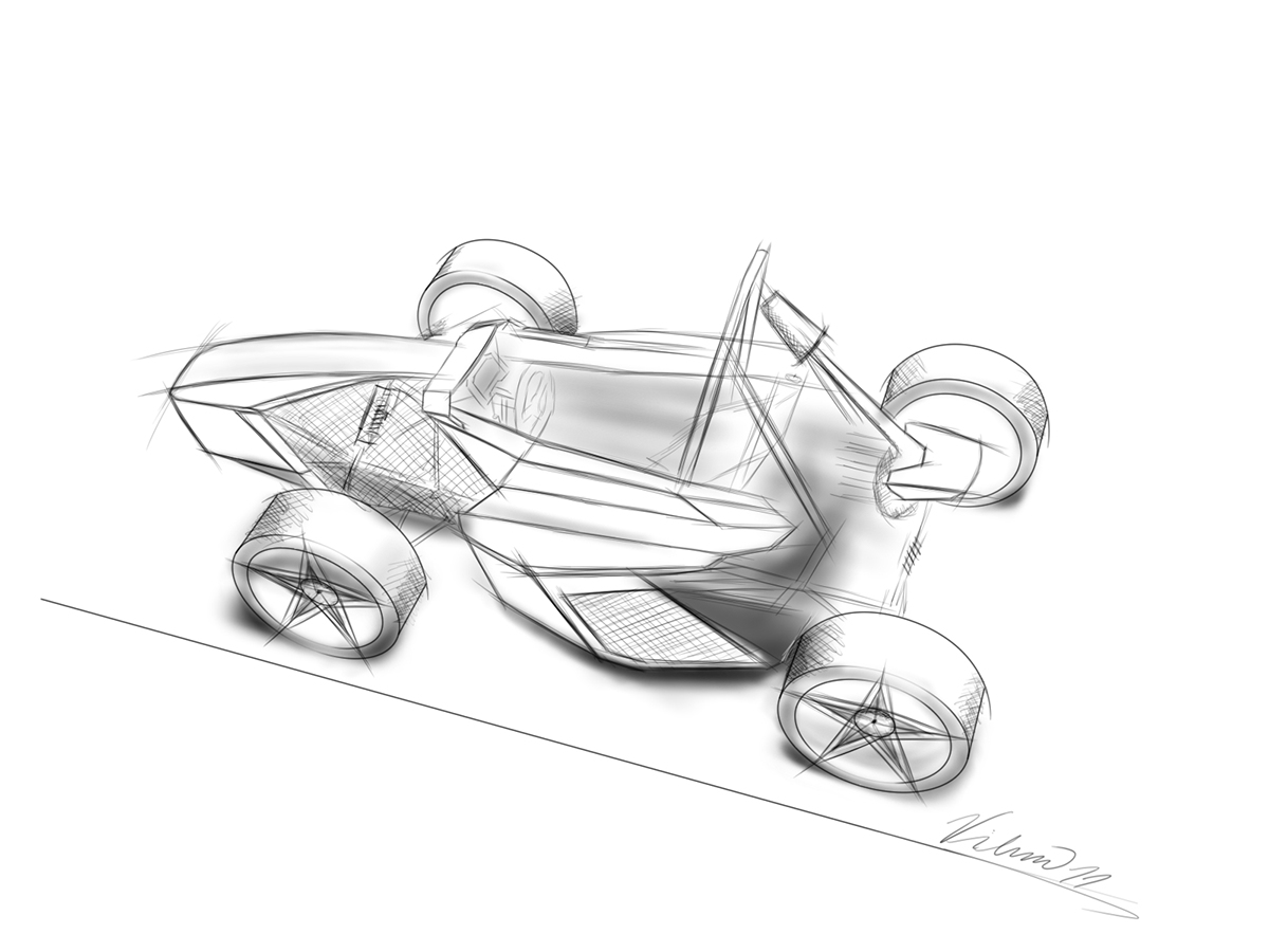 Basic design of a car - Basic Side View And Colours