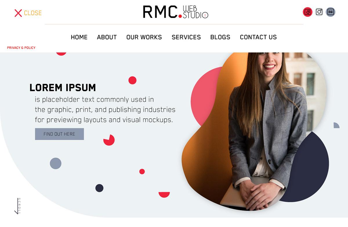 UI/UX Web Design  web development