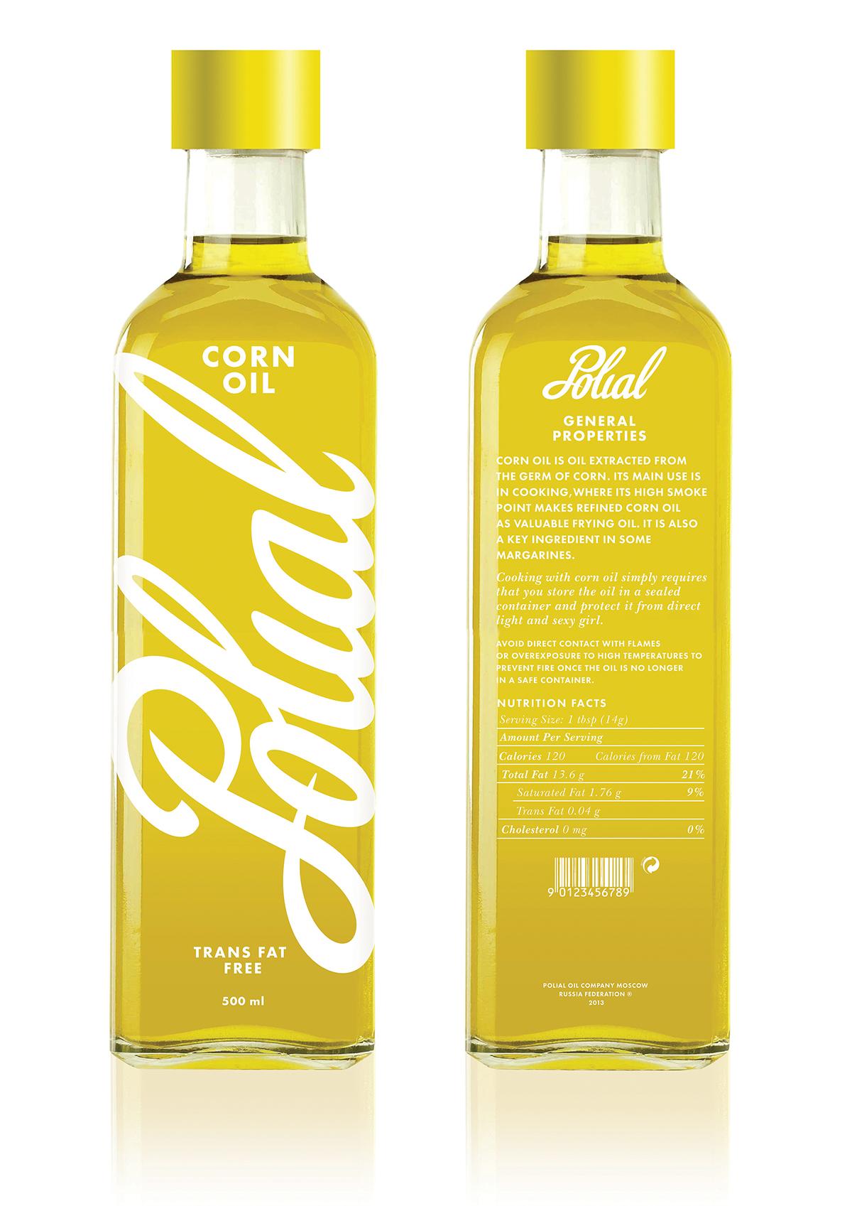 Polial (corn oil) on Behance