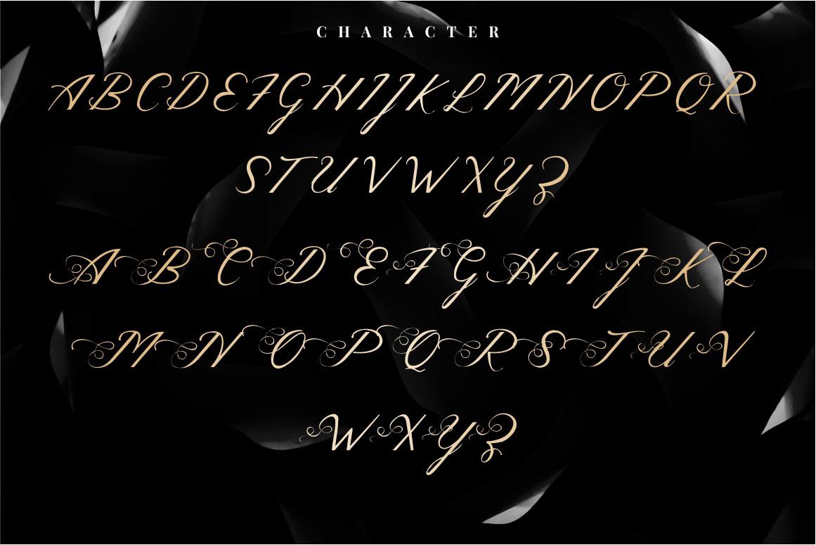 Melodious Script Font on Behance