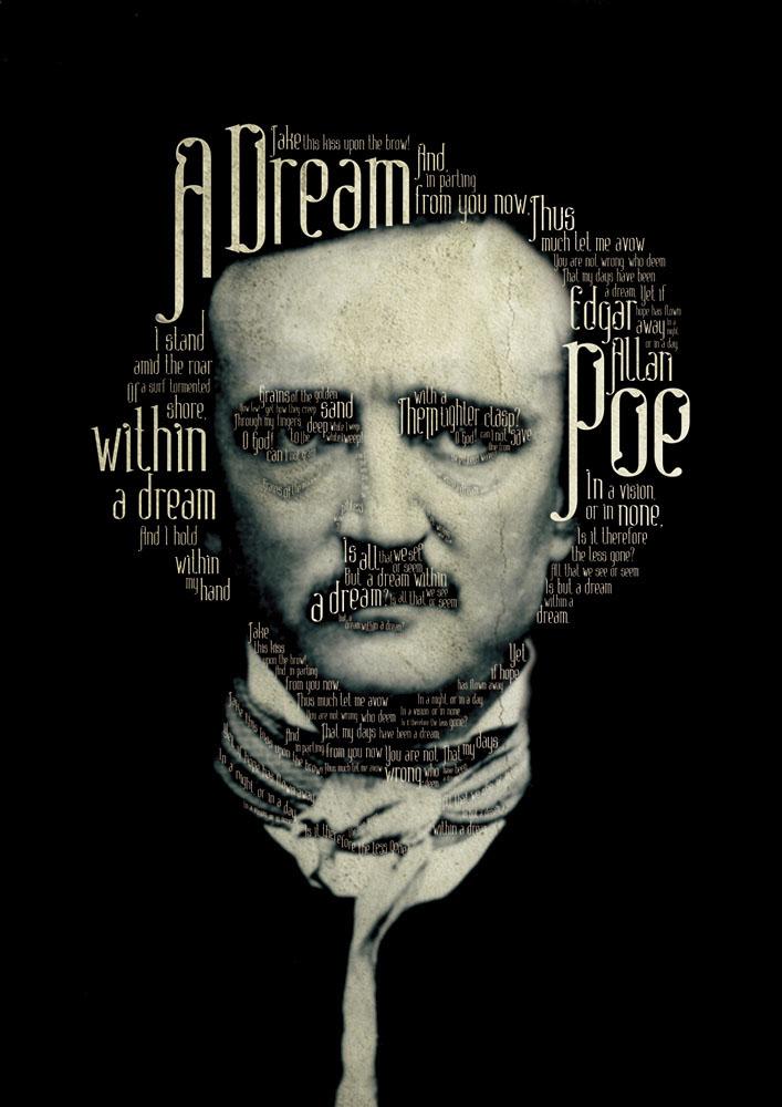 Adobe Portfolio font Typeface Edgar Allan Poe Retro