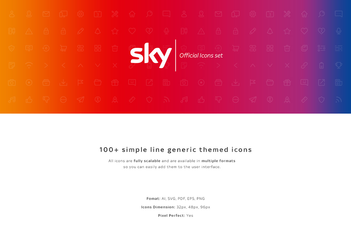 Sky | Official Icons Set on Wacom Gallery