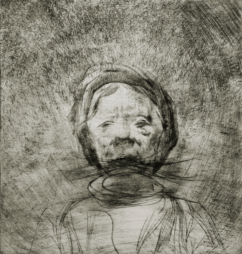 DryPoint Realistic drawing Realism figurative