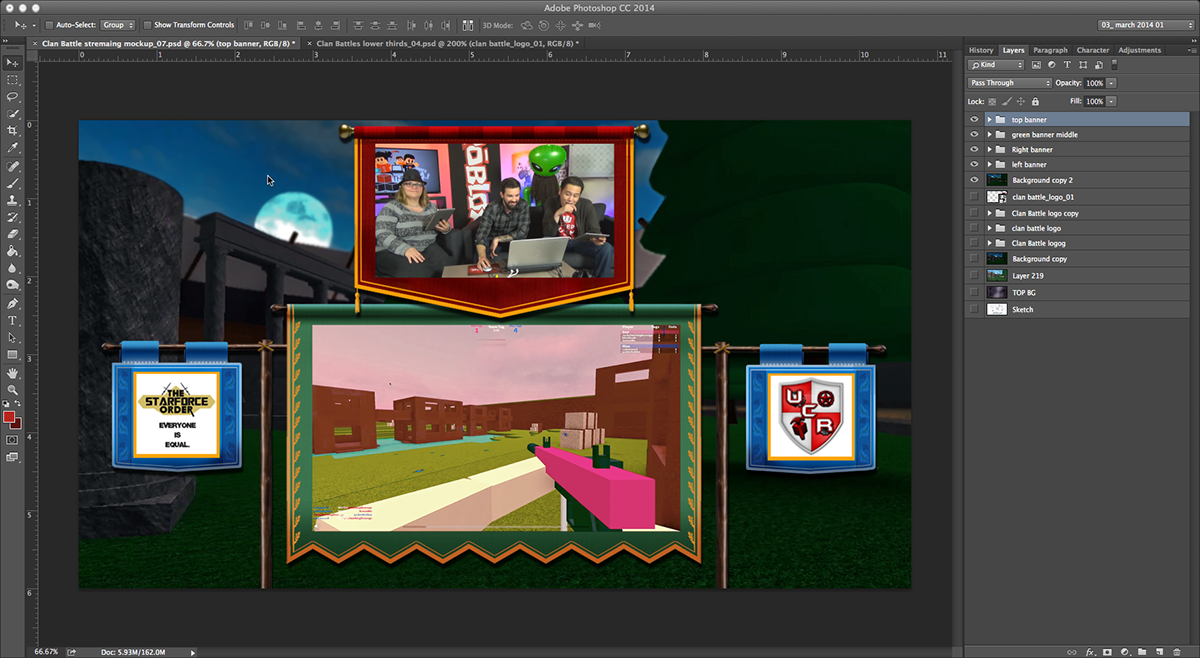 Concept & Creative development Configuring Studio Gear Video Production