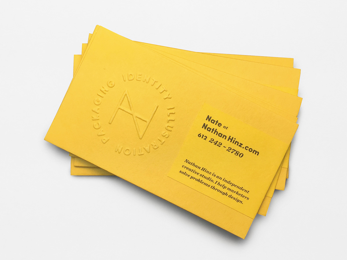 DIY Business Cards on Behance
