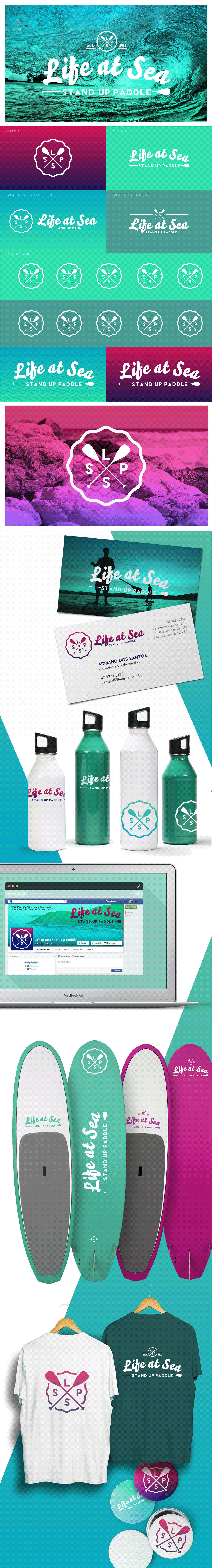 Logo Design sup surfwear sea Ocean lifestyle sport water standup padlle Youthful