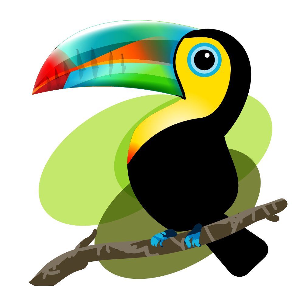 bichos mexicanos vectores de la fauna mexicana on behance toucan clipart free toucan clipart silhouette