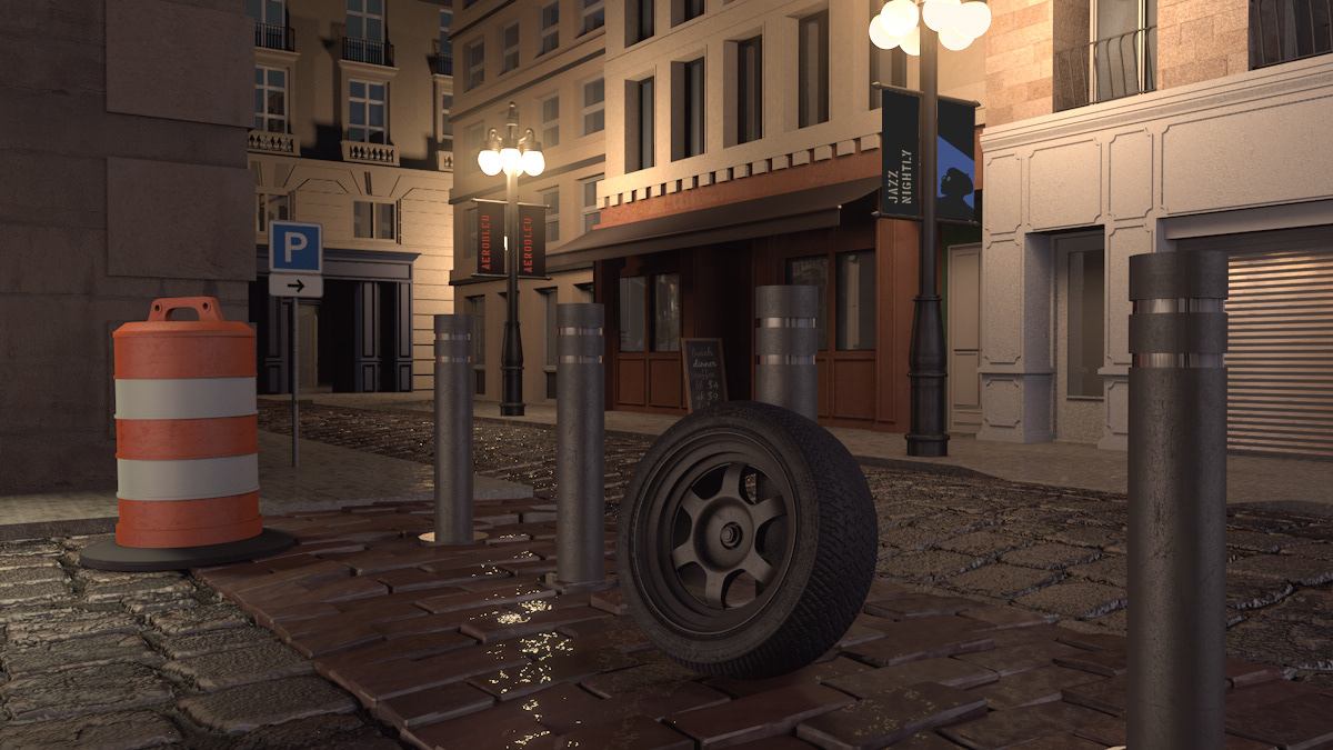 Maya mental ray firefly Renders 3D arch-viz cinema 4d