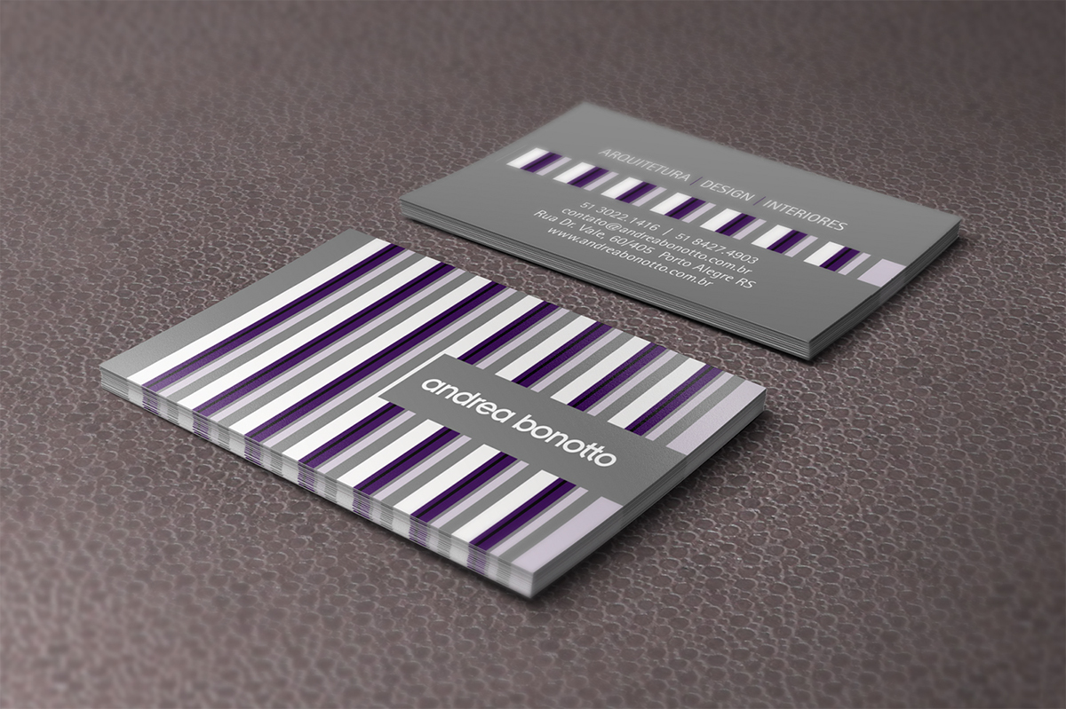 design ARQUITETURA marca identidade visual cartão de visitas Hiperdesign