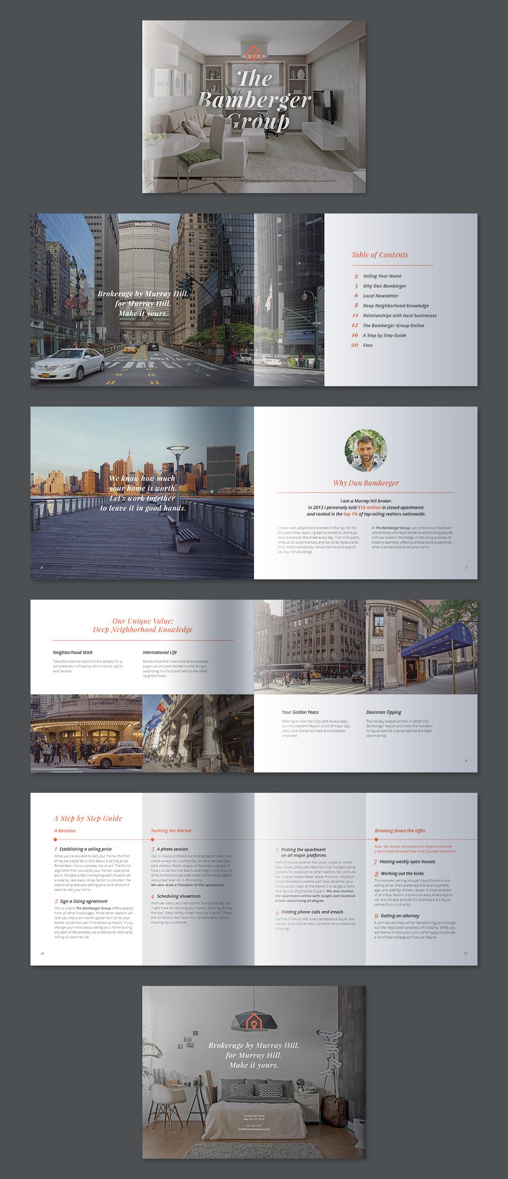 realtor brochures