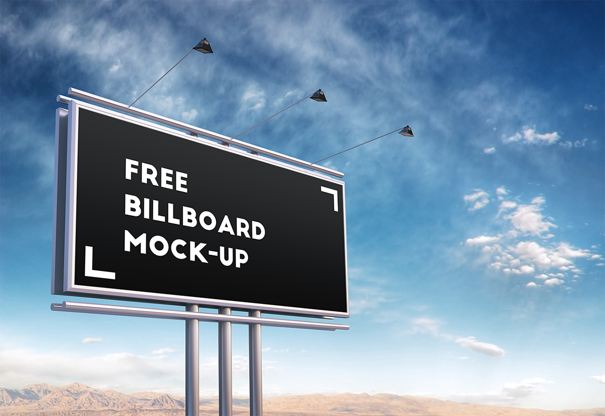 Free psd billboard mock up on behance stopboris Images