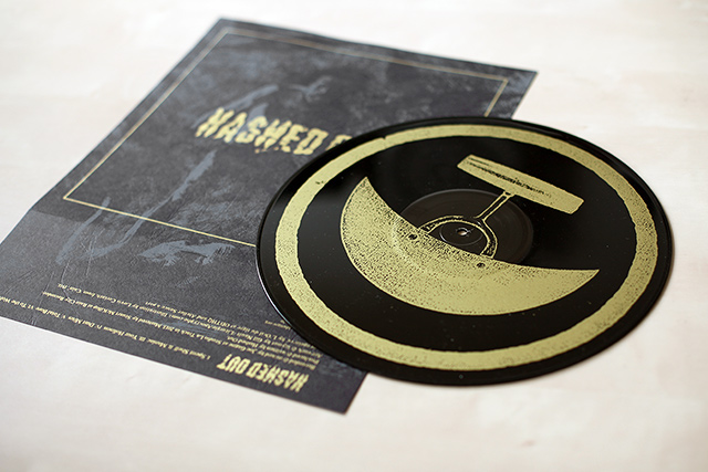 Hashed Out Montreal Hardcore punk vinyl screenprinted silkscreen sérigraphie B-Side t-shirt pins L'Œil du tigre Lovis Corinth cain silkscreened