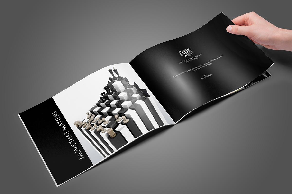 bion smart modular kitchen design on behance