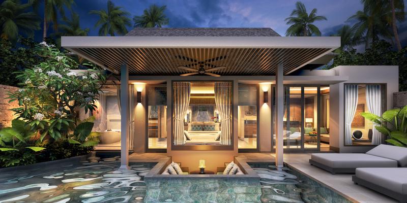 3d Render Project Villa In Echo Beach Bali On Behance