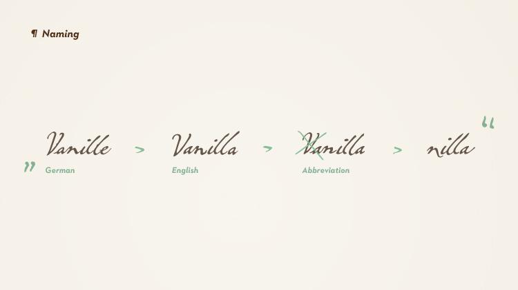 Nilla vanilla package packaging design luxury Coffee espresso pattern sweet german germany logo