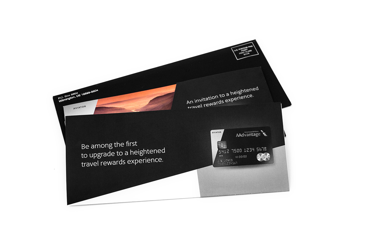 884173008bc American Airlines Aviator World Mastercard on Behance