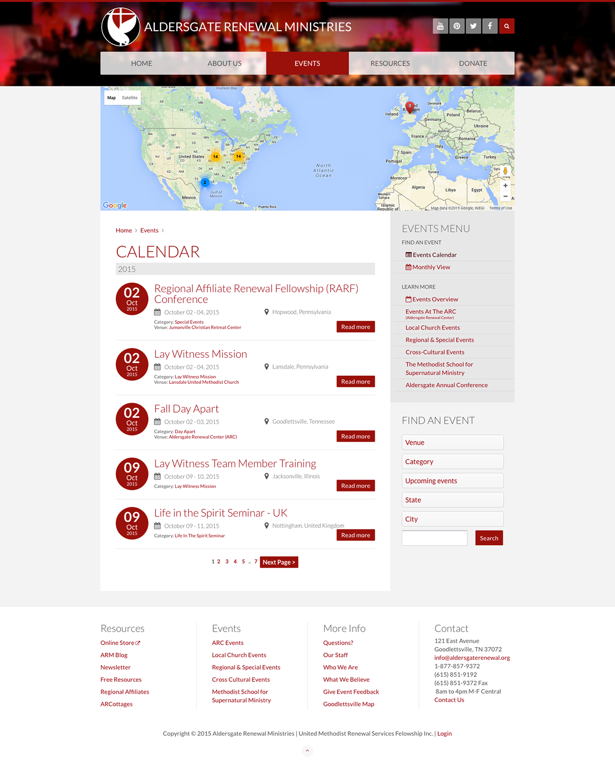 non-profit Website joomla