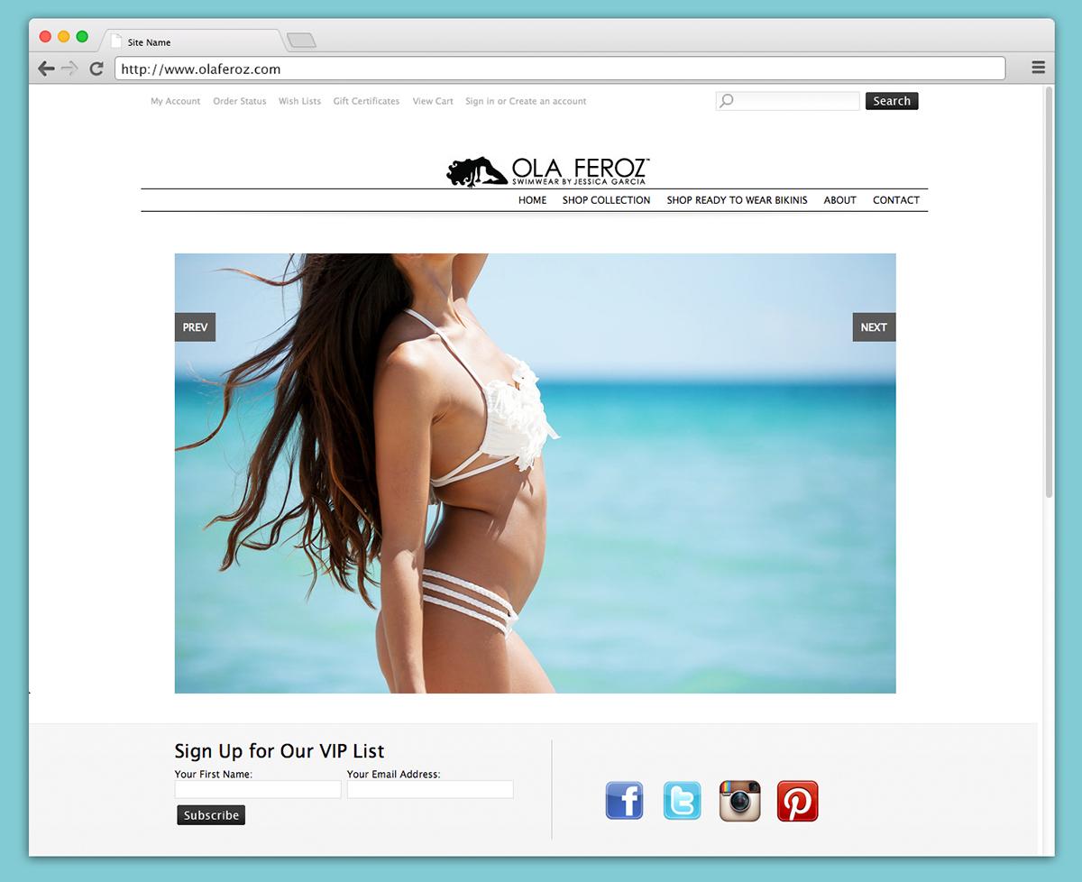 Brand Development Website Design