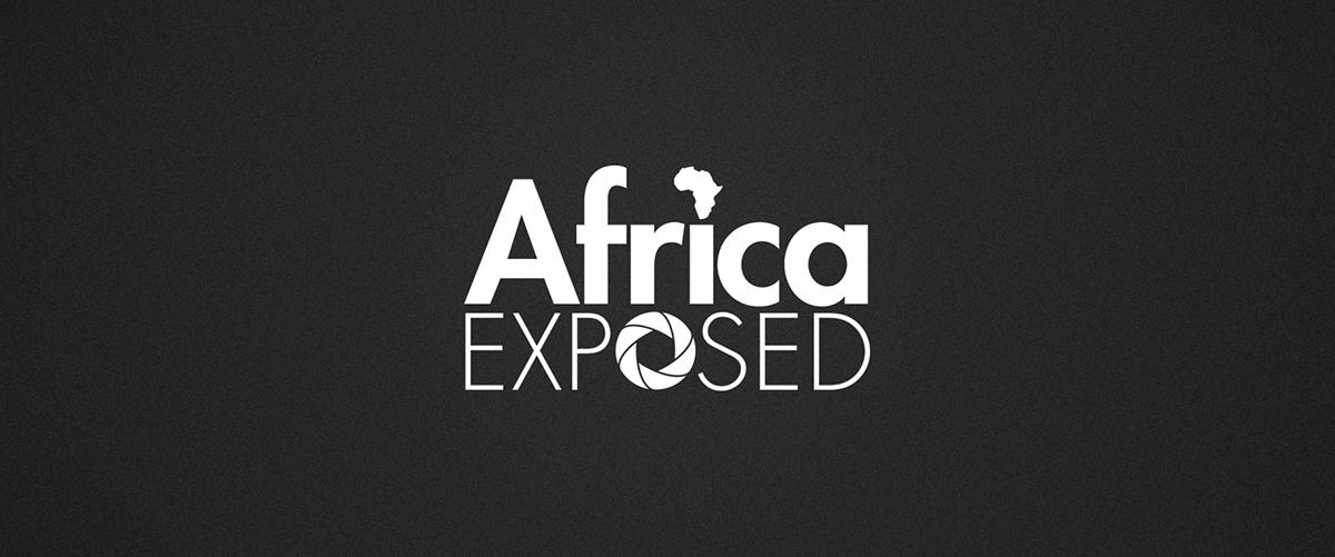 Logo Design graphic design  branding  Travel africa