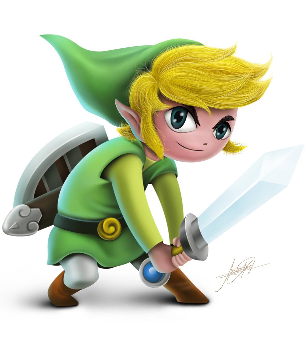 My name is Link not Zelda! on Behance