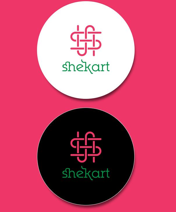 shekart e-commerce business Retail apparel Kolkata India marketing   logo identity
