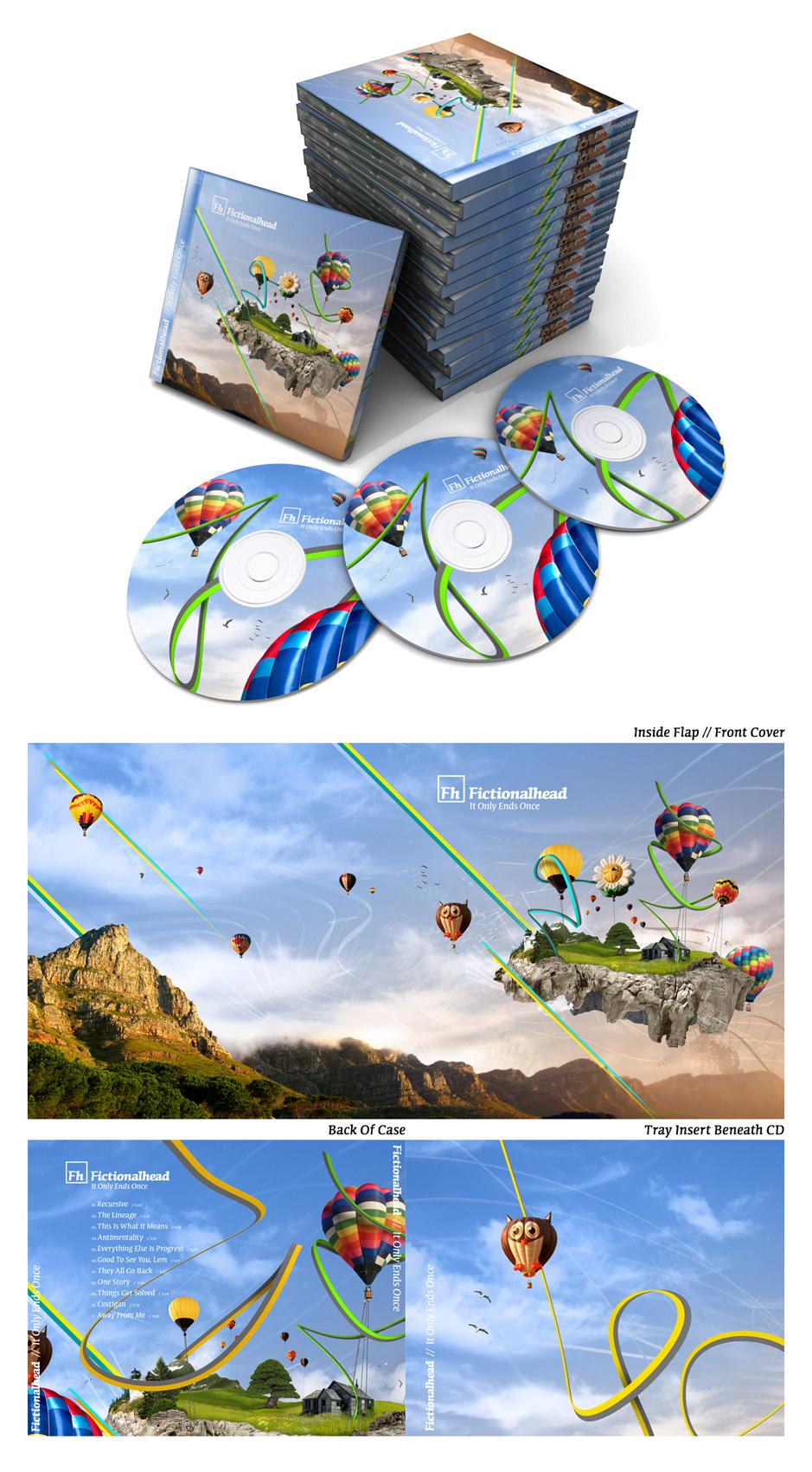 music Album Digital Art  ILLUSTRATION  electronic design